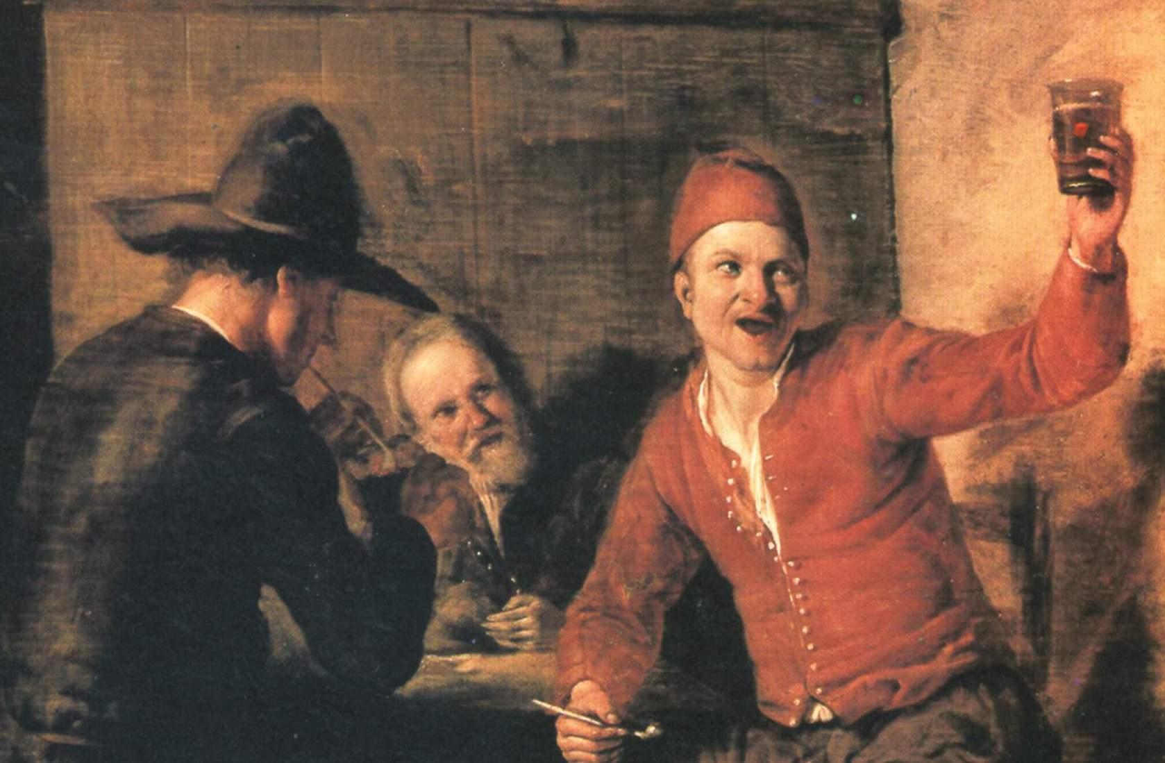 El soñador (1650), de Nicolaes Maes 2