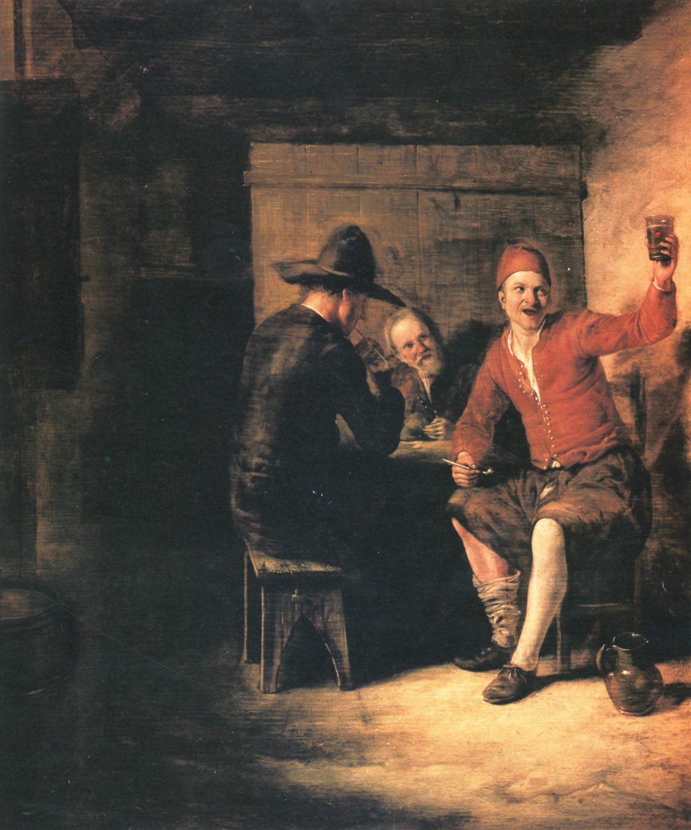 El soñador (1650), de Nicolaes Maes