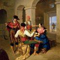 Escena de una venta (1855), de Manuel Cabral Aguado Bejarano