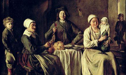 """Familia feliz"" (1642), de Louis Le Nain"