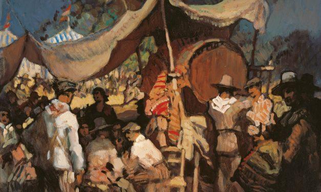 """""""Feria"""" (comienzo del siglo XX), de Gustavo Bacarisas"""