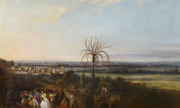 """""""Fiesta popular en los alrededores de Sevilla"""" (1845-1850), de Manuel Barrón y Carrillo"""