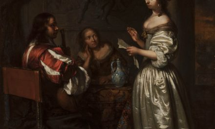 """""""Haciendo música"""" (1665), de Caspar Netscher"""