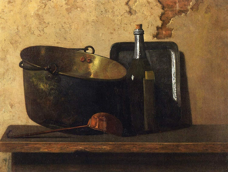 Hervidor de agua de latón y vino (1890-1899), de John Frederick Peto