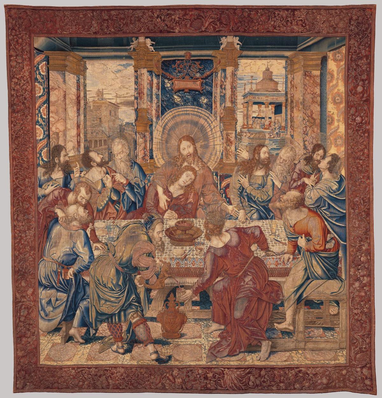 La Última Cena (1525–1528), de Bernaert van Orley