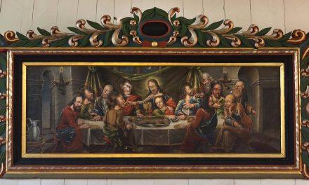 """La Última Cena"" (1701), de Didrik Möllerum"