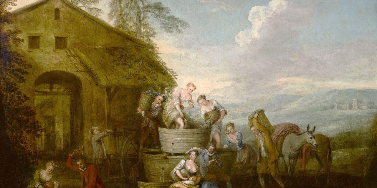 """""""La Vendimia"""" (hacia 1720), de Jean-Baptiste Pater"""