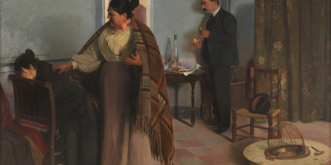 """""""La bestia humana"""" (1897), de Antonio Fillol"""