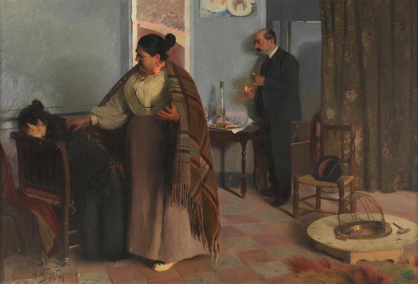 La bestia humana (1897), de Antonio Fillol