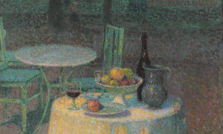 """""""La cafetería del puerto"""" (1923), de Henri Le Sidaner"""