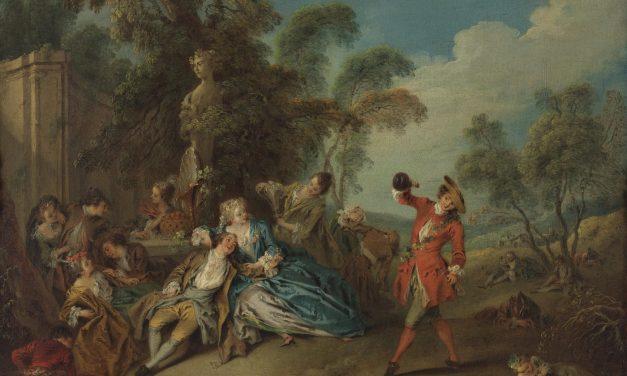 """""""Las alegrías de la vida en el campo"""" (sobre 1730), de Jean-Baptiste Pater"""