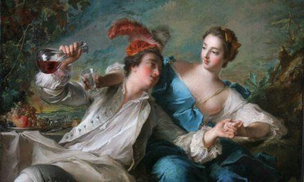 """""""Los amantes"""" (1744), de Jean-Marc Nattier"""