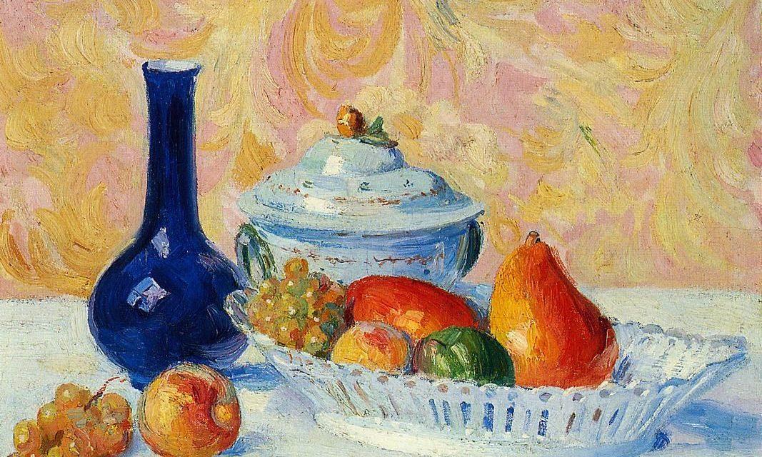 """""""Naturaleza muerta con fruta"""" (1880), de Hippolyte Petitjean"""