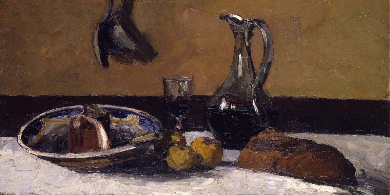 """""""Naturaleza muerta"""" (1867), de Camille Pissarro"""