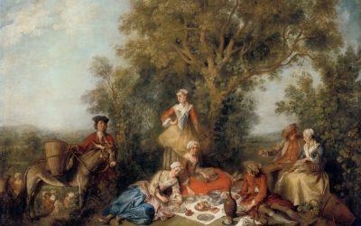 """""""Otoño"""" (1738), de Nicolas Lancret"""