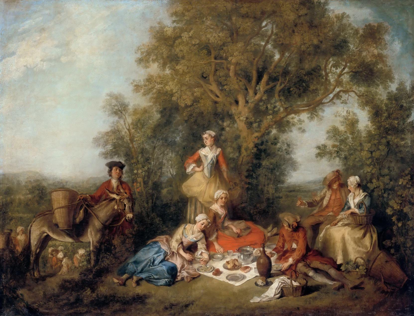 Otoño (1738), de Nicolas Lancret