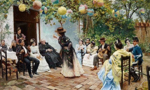 """""""Recien casados"""" (1905), de Ricardo López Cabrera"""