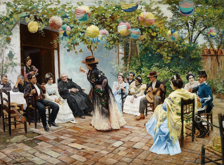 Recien casados (1905), de Ricardo López Cabrera