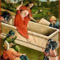 Resurrección de Cristo (1456-1457), de Johann Koerbecke