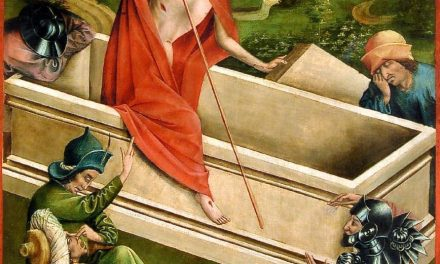"""""""Resurrección de Cristo"""" (1456-1457), de Johann Koerbecke"""