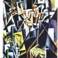 Retrato de un filósofo (1915), de Lyubov Popova