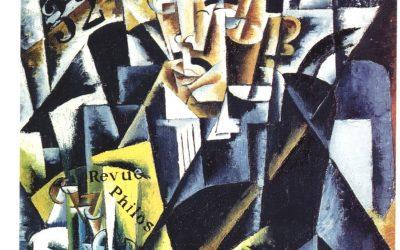"""""""Retrato de un filósofo"""" (1915), de Lyubov Popova"""