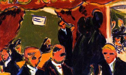 """Taberna"" (1909), de Ernst Ludwig Kirchner"