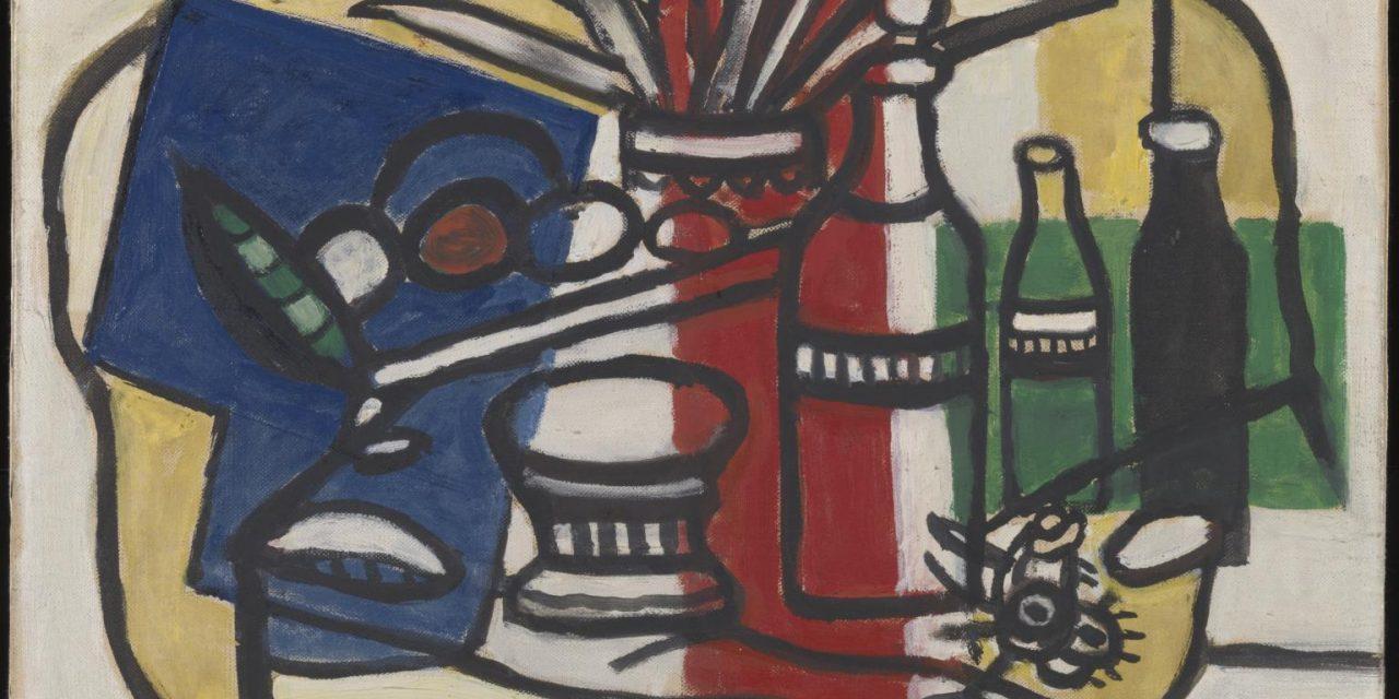 """Tres Botellas"" (1954), de Fernand Léger"