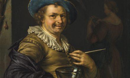 """""""Un alegre terapeuta"""" (1699), de Willem van Mieris"""