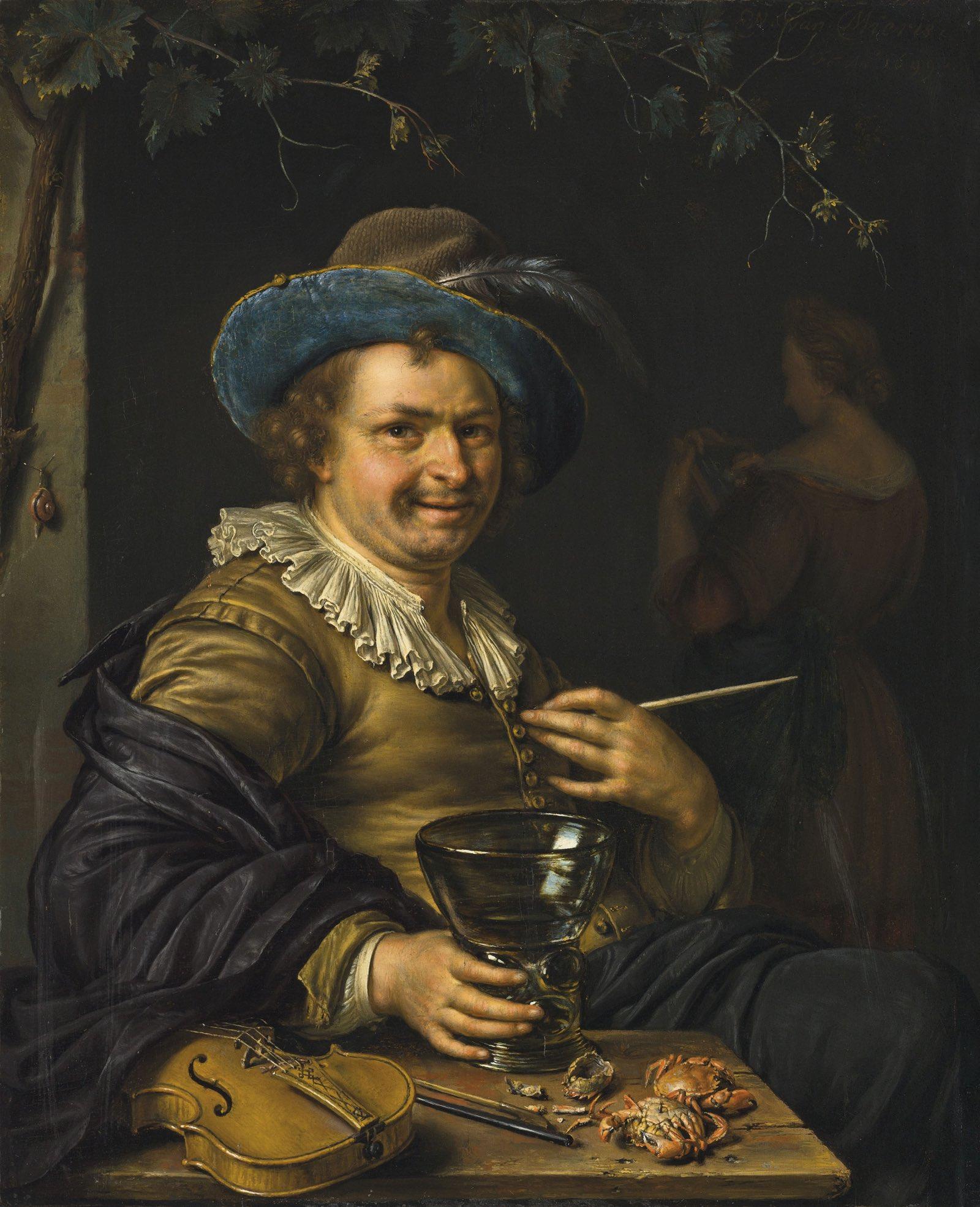 Un alegre terapeuta (1699), de Willem van Mieris