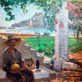 Una merienda (1900), de Teodoro Andreu