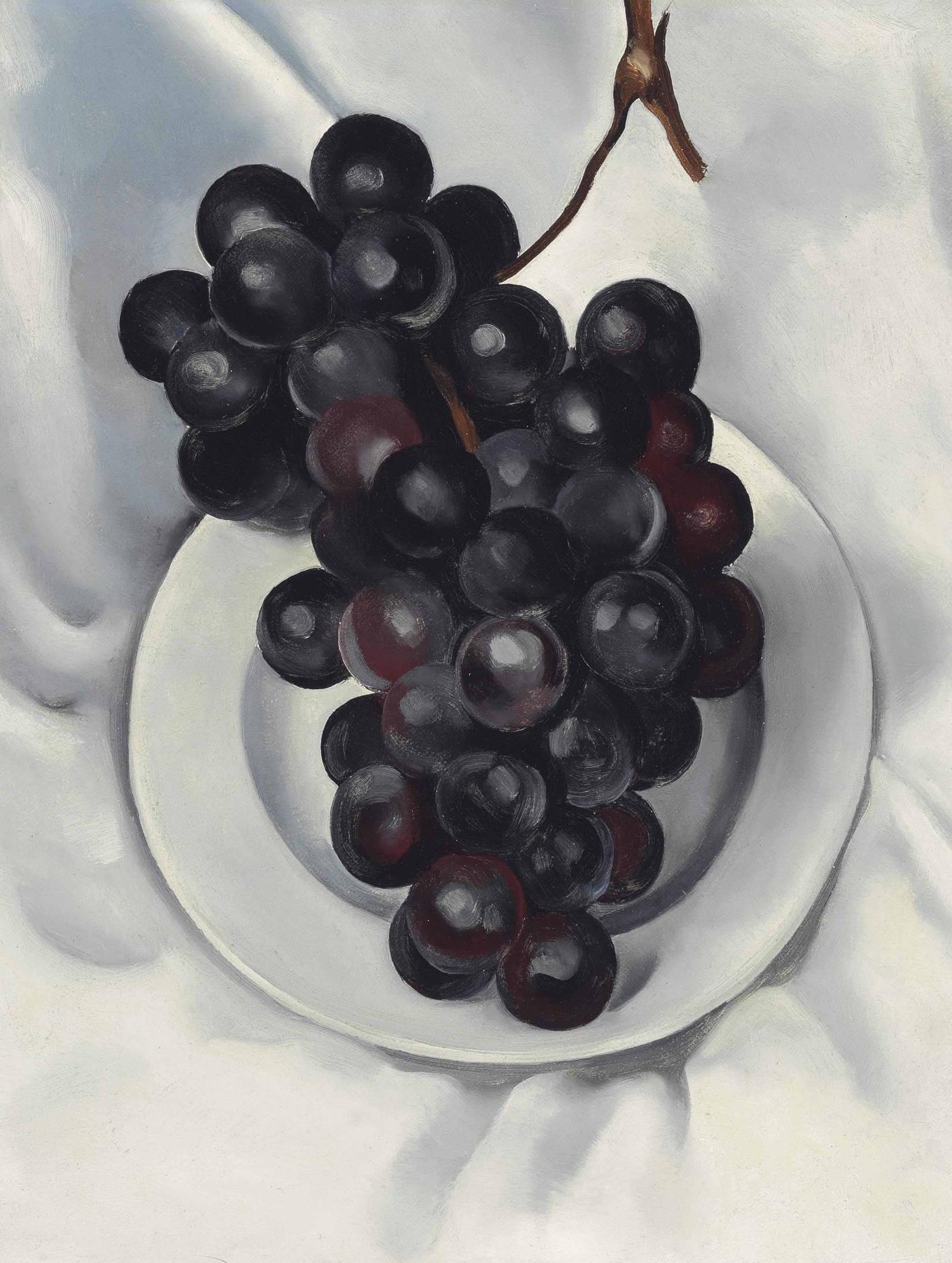 Uvas No. 2 (1927), de Georgia O'Keeffe