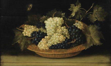"""""""Uvas sobre la mesa"""" (1631), de Jacques Linard"""