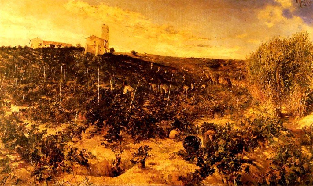 """Vendimia en Jerez"" (1893), de José Montenegro"