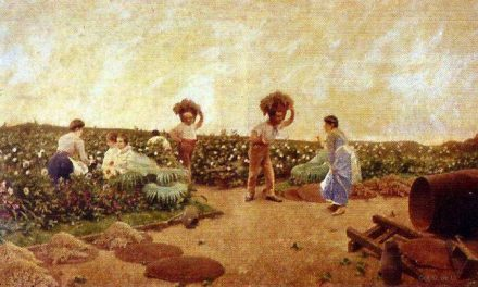 """Vendimia"" (1880), de Germán Álvarez Algeciras"