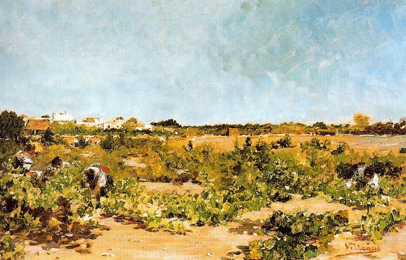 """""""Vendimia"""" (1895), de José Villegas Cordero"""