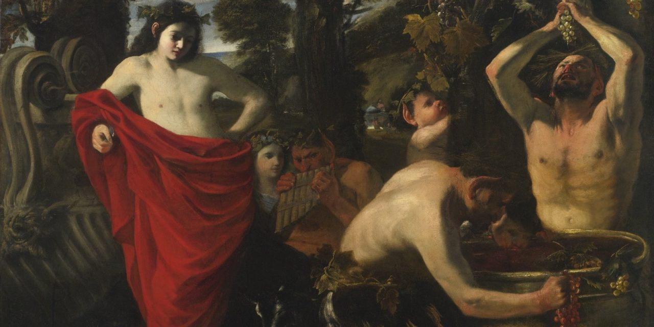 """""""Baco"""" (1648-1649), de Pier Francesco Mola"""