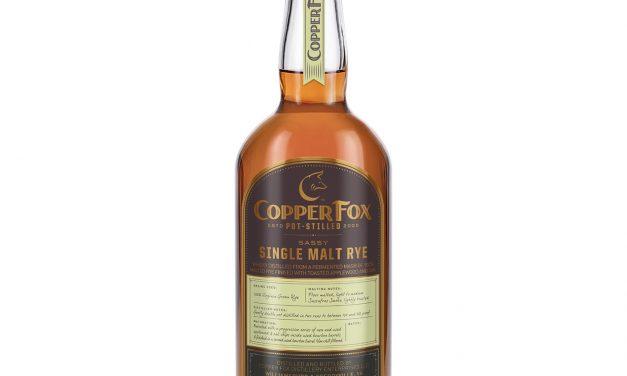 Copper Fox presenta Copper Fox Sassy Rye y nuevos diseños para sus whiskies