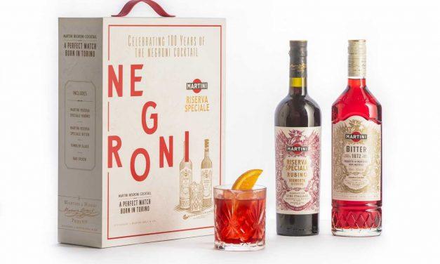 'Martini' lanza una edición conmemorativa para celebrar el 100 aniversario del Negroni
