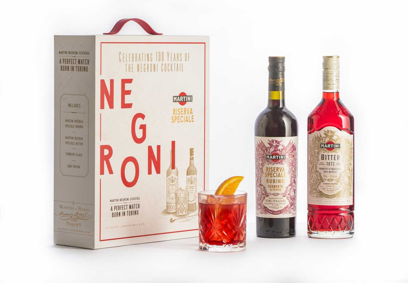 'Martini' lanza una edición conmemorativa del Negroni