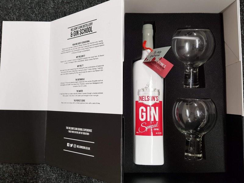 Nelson's Valentine's Gin 1