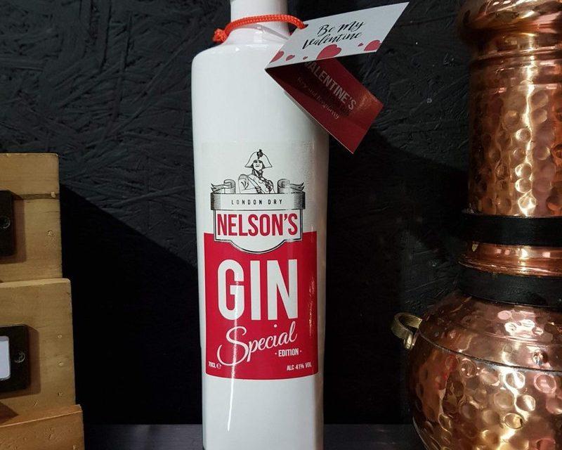 Nelson's Gin lanza Nelson's Valentine's Gin, ginebra inspirada en San Valentín