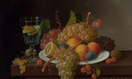 """Still Life with Fruit"" (siglo XIX), de Paul Lacroix"