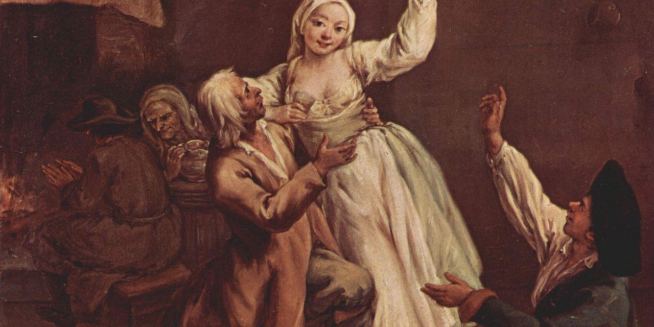 """La Pareja Hilarante"" (1740), de Pietro Longhi"