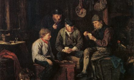 """""""Marineros jugando a las cartas"""" (1871), de Karl Emanuel Jansson"""