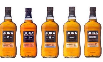 Whyte & Mackay presenta su renovada gama 'Jura' con 5 nuevos whiskies