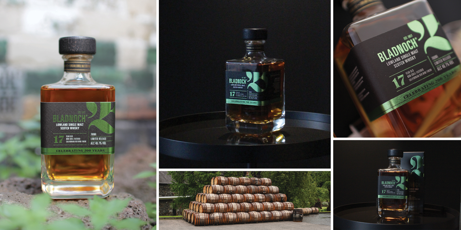 Bladnoch 17 Year Old is described as having notes of spicy oak and orange marmalade