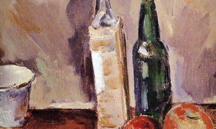 """""""Bodegón con botellas"""" (1936), de Max Weber"""
