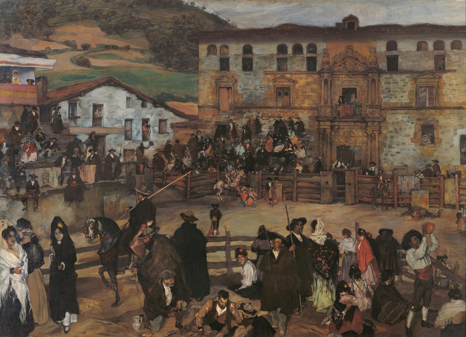 Corrida de toros en Eibar (1899), de Ignacio Zuloaga Zabaleta 1