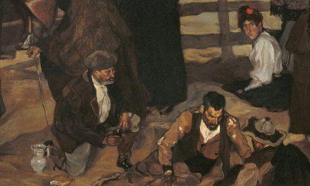 """""""Corrida de toros en Eibar"""" (1899), de Ignacio Zuloaga Zabaleta"""